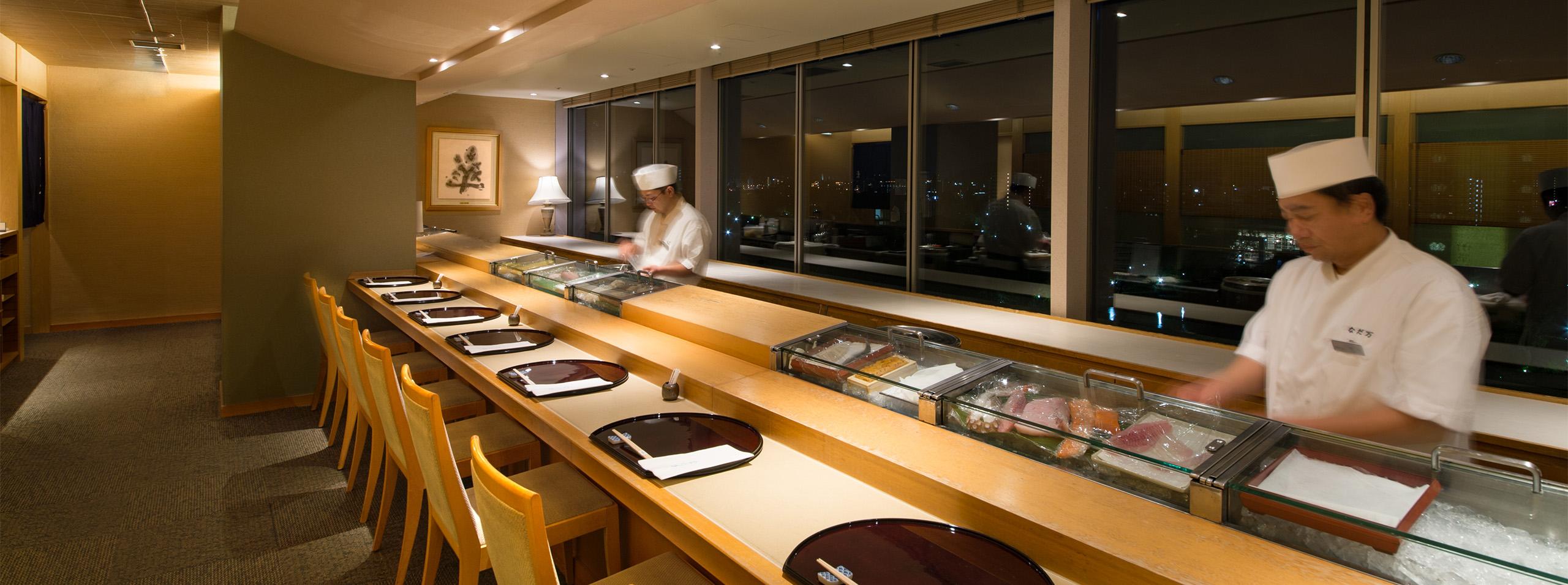 日本料理 なだ万雅殿